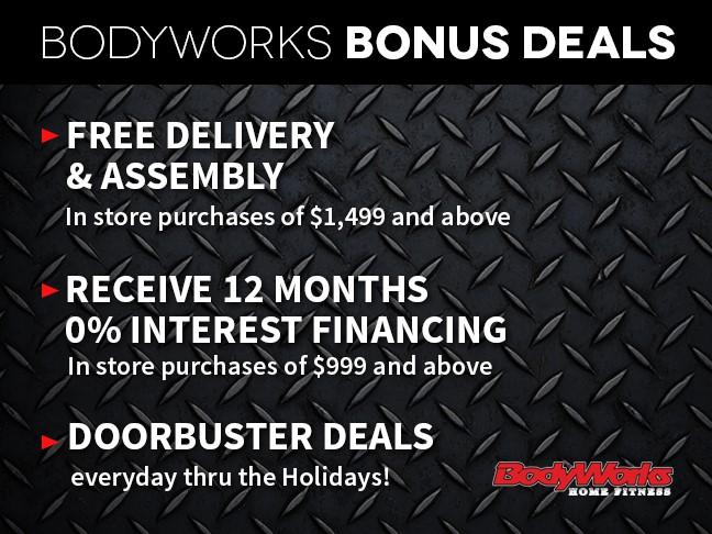BodyWorks Bonus Deals - Click Image to Close