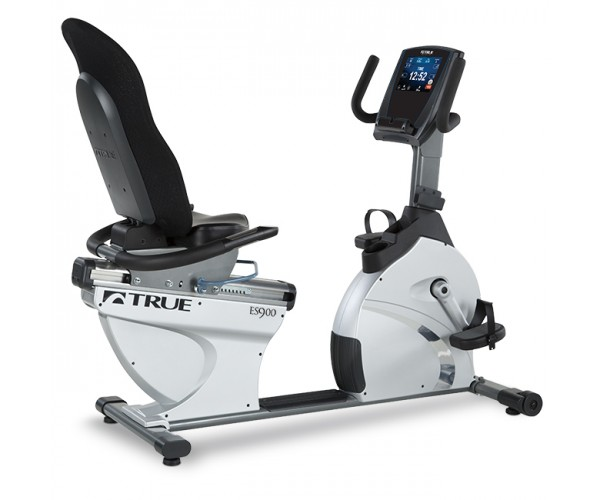 True Fitness ES900 Recumbent Bike (Self-Generating) - Click Image to Close