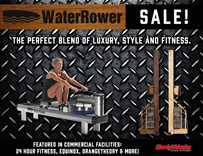 WaterRower Sales Banner - Click Image to Close