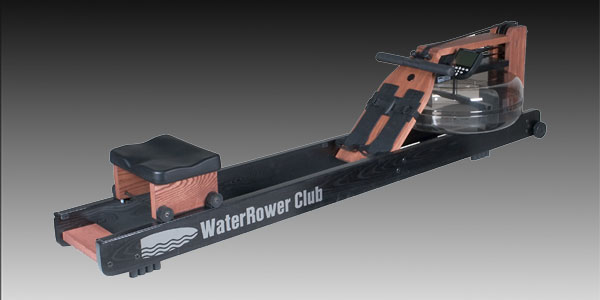 WaterRower Club (Rose & Black) w/S4 Monitor - Click Image to Close